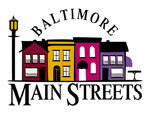 Baltimore Main Streets Logo